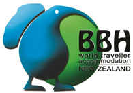 BBH NZ, world traveller accommodation budget hostels